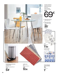 Ofertas de Cubo de basura  en el folleto de Carrefour en Barcelona