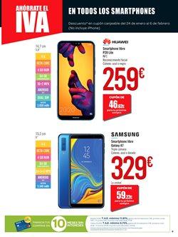 Ofertas de Smartphones Samsung en el folleto de Carrefour en Arroyomolinos 2aa540d6ad6e4