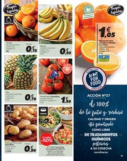 Ofertas de Naranjas  en el folleto de Carrefour en Madrid