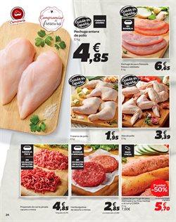 Ofertas de Hamburguesas  en el folleto de Carrefour en El Ejido