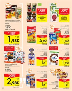 Ofertas de Pastelitos  en el folleto de Carrefour en Madrid