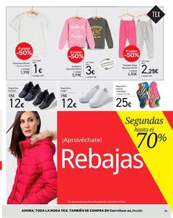 Ofertas de Ropa  en el folleto de Carrefour en Madrid