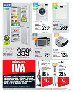 Ofertas de Braun  en el folleto de Carrefour en Madrid