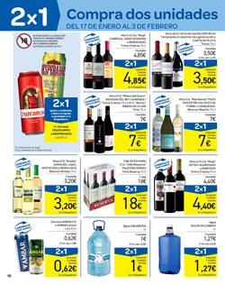 Ofertas de Solán de Cabras  en el folleto de Carrefour en Málaga
