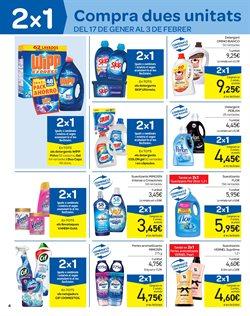 Ofertas de Suavizante  en el folleto de Carrefour en Barcelona