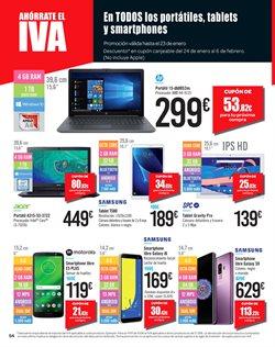 Ofertas de Tablet  en el folleto de Carrefour en Ponferrada