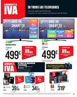 Ofertas de Smart tv  en el folleto de Carrefour en León