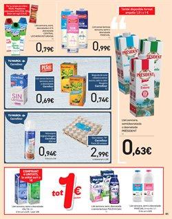 Ofertas de Lácteos  en el folleto de Carrefour en Barcelona