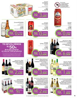 Ofertas de Vino blanco  en el folleto de Carrefour en San Cristobal de la Laguna (Tenerife)