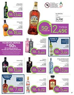Ofertas de Licor  en el folleto de Carrefour en San Cristobal de la Laguna (Tenerife)
