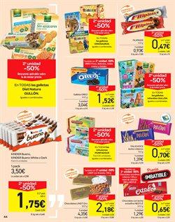Ofertas de Chocolate  en el folleto de Carrefour en San Cristobal de la Laguna (Tenerife)