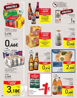 Ofertas de Cerveza especial  en el folleto de Carrefour en San Cristobal de la Laguna (Tenerife)