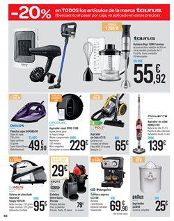 Ofertas de Aspirador  en el folleto de Carrefour en Santiago de Compostela