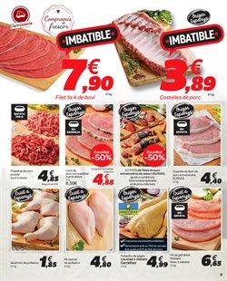 Ofertas de Salchichas de pollo  en el folleto de Carrefour en Figueres