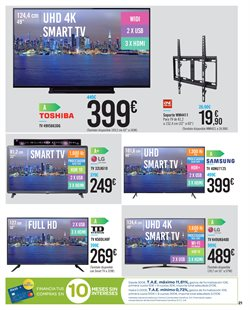 Ofertas de Tv led  en el folleto de Carrefour en Utrera