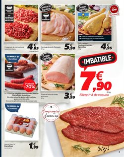 Ofertas de Carne de cerdo  en el folleto de Carrefour en El Ejido