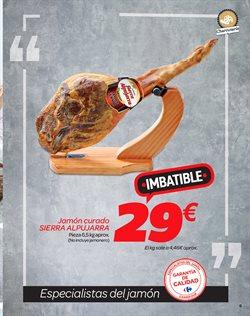 Ofertas de Jamón serrano  en el folleto de Carrefour en Madrid