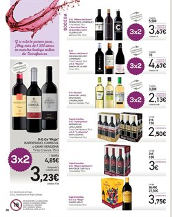 Ofertas de Vino tinto  en el folleto de Carrefour en Madrid