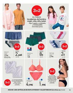 Ofertas de Ropa interior femenina  en el folleto de Carrefour en Palma de Mallorca