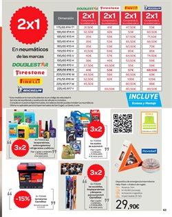 Ofertas de Michelin  en el folleto de Carrefour en Zaragoza