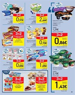 Ofertas de Yogur  en el folleto de Carrefour en San Cristobal de la Laguna (Tenerife)
