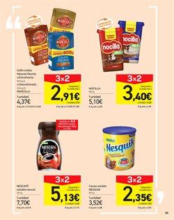 Ofertas de Nescafé  en el folleto de Carrefour en Vecindario