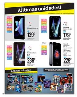 Ofertas de Telefonía  en el folleto de Carrefour en San Cristobal de la Laguna (Tenerife)