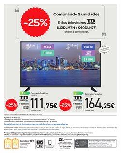 Ofertas de Imagen y sonido  en el folleto de Carrefour en Telde