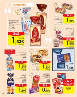 Ofertas de Bimbo  en el folleto de Carrefour en Barcelona