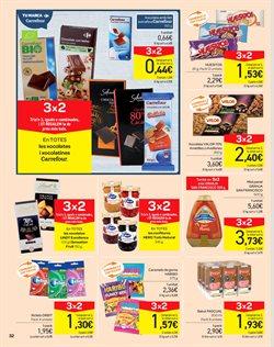 Ofertas de Chocolate  en el folleto de Carrefour en Barcelona