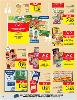 Ofertas de Arroz, pasta y legumbres  en el folleto de Carrefour en Sagunt-Sagunto