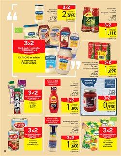Ofertas de Salsas  en el folleto de Carrefour en Pamplona