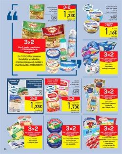Ofertas de Queso en lonchas  en el folleto de Carrefour en Fuengirola