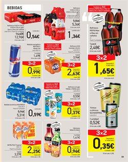 Ofertas de Aquarius  en el folleto de Carrefour en Fuengirola