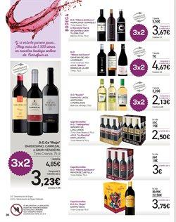Ofertas de Vino tinto  en el folleto de Carrefour en Málaga