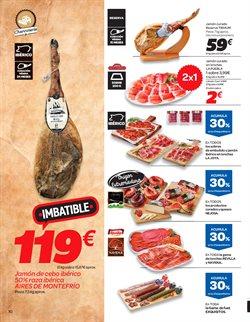 Ofertas de Paleta ibérica de cebo  en el folleto de Carrefour en León