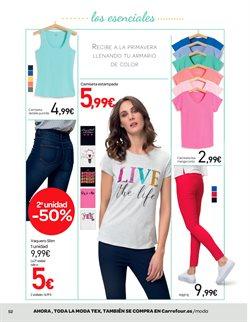 Ofertas de Camiseta mujer  en el folleto de Carrefour en Ávila
