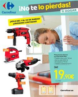 Ofertas de Amoladora  en el folleto de Carrefour en Santa Cruz de Tenerife