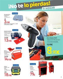 Ofertas de Caja de herramientas  en el folleto de Carrefour en Alicante