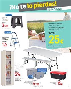Ofertas de Mesa plegable  en el folleto de Carrefour en Murcia