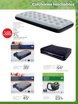 Ofertas de Colchón hinchable  en el folleto de Carrefour en Telde