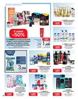 Ofertas de Champú  en el folleto de Carrefour en Telde