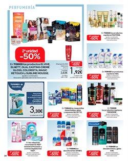 Ofertas de Crema de afeitar  en el folleto de Carrefour en Madrid