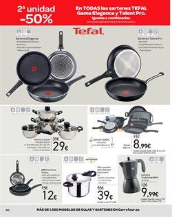 Ofertas de Tefal  en el folleto de Carrefour en Zaragoza