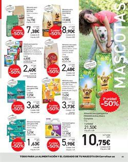 Ofertas de Comida para perros  en el folleto de Carrefour en Boadilla del Monte
