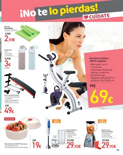 Ofertas de Aparatos de fitness  en el folleto de Carrefour en Alicante