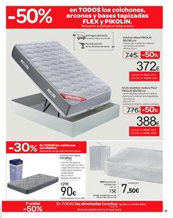 Ofertas de Colchones  en el folleto de Carrefour en Madrid