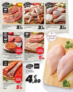 Ofertas de Hamburguesas  en el folleto de Carrefour en Barcelona