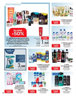 Ofertas de Gliss  en el folleto de Carrefour en Barcelona