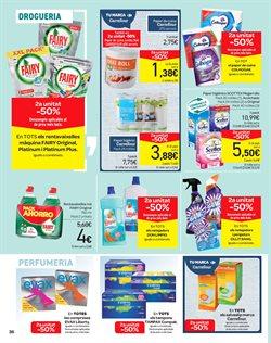 Ofertas de Detergente lavavajillas  en el folleto de Carrefour en Castelldefels